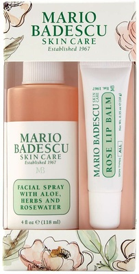 Mario Badescu Rose Lip & Mist Duo