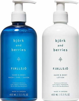 Björk & Berries Fjällsjö Holiday Hand & Body Duo