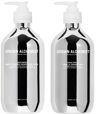 Grown Alchemist Silver Kit Hand Wash + Hand Cream