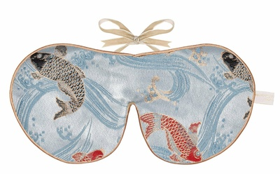 Holistic Silk Limited Edition Eye Mask Carp Brocade