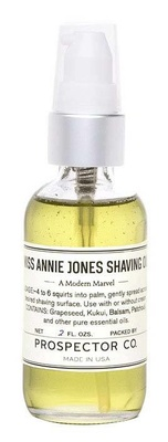 Prospector Co Miss Annie Jones Shaving Oil