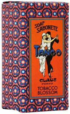 Claus Porto Tango Tobacco Blossom Mini Soap
