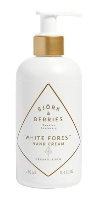 Björk & Berries White Forest Hand Cream