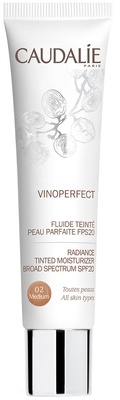 Caudalie Vinoperfect Radiance Tinted Moisturizer Broad Spectrum SPF20 Medium