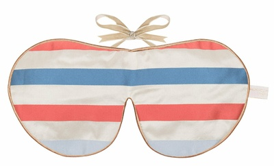 Holistic Silk Limited Edition Eye Mask French Stripe