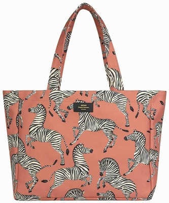Wouf Zebra Large Tote Bag