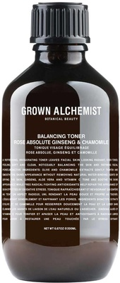 Grown Alchemist Balancing Toner Rose Absolute, Ginseng and Chamomile