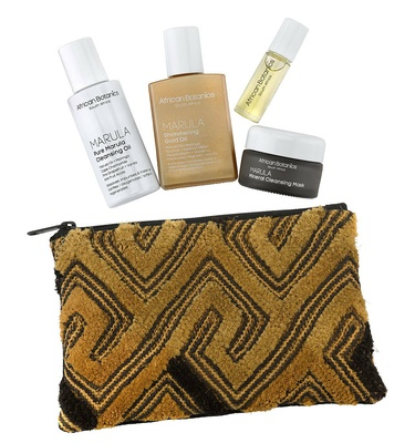 African Botanics Wanderlust Travel Set