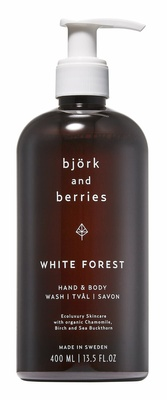 Björk & Berries White Forest Hand & Body Wash