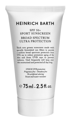Heinrich Barth SPF 50+ Sport Sunscreen
