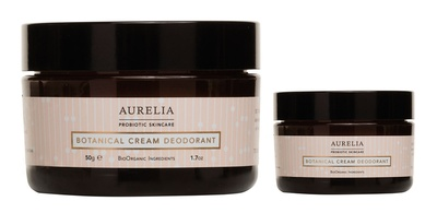 Aurelia Probiotic Skincare Botanical Cream Deodorant Set