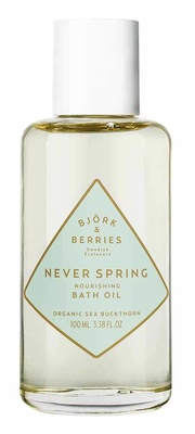 Björk & Berries Never Spring Energising Bath Oil
