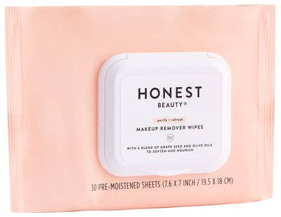 Honest Beauty Makeup Remover Wipes, 30 ct