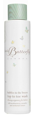 Little Butterfly London Bubbles in the Breeze - Top to Toe Wash