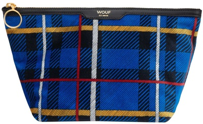 Wouf Blue Tartan Velvet Beauty