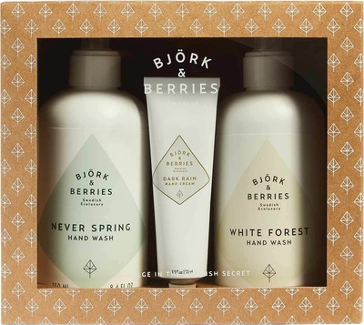 Björk & Berries Holiday Hand Wash Duo Kit 2018