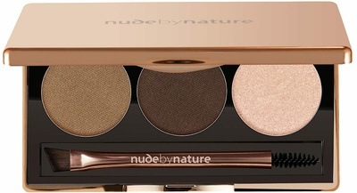 Nude By Nature Natural Definition Brow Palette 02 Brown