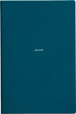 Treuleben Journal M ruled Petrol Green