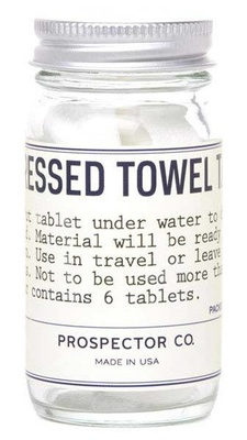 Prospector Co Compressed Towel Tablets
