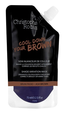 Christophe Robin Shade variation mask pocket Ash brown