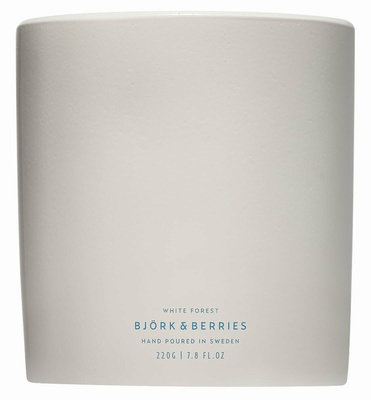Björk & Berries White Forest Scented Candle
