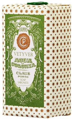 Claus Porto Agua Colonia Vetyver Wax Sealed Soap