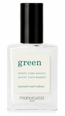 Manucurist Green Nail Lacquer Snow