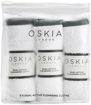 Oskia Dual Active Cleansing Cloths