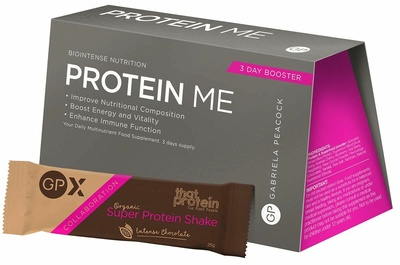 GP Nutrition Protein Me 3 day travel pack