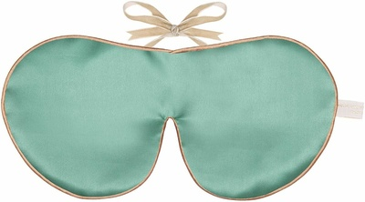 Holistic Silk Pure Silk Eye Mask Jade