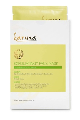 Karuna Exfoliating + Face Mask Single