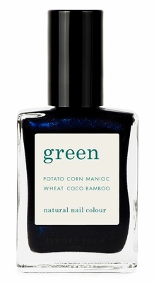 Manucurist Green Nail Lacquer Dark Night