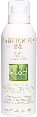 Hampton Sun Hydrating Aloe Vera Continuous Mist 141 ml