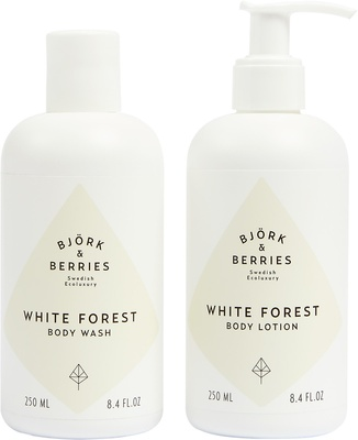 Björk & Berries Holiday White Forest Body Kit 2019