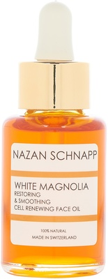 Nazan Schnapp White Magnolia Restoring & Smoothing Cell Renewing Face Oil