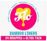 Flo Natural Bamboo Daily Liners